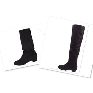 Shoes - Slim over knee boots